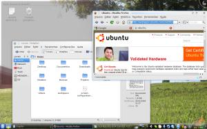 Snapshot do Kubuntu 9.04